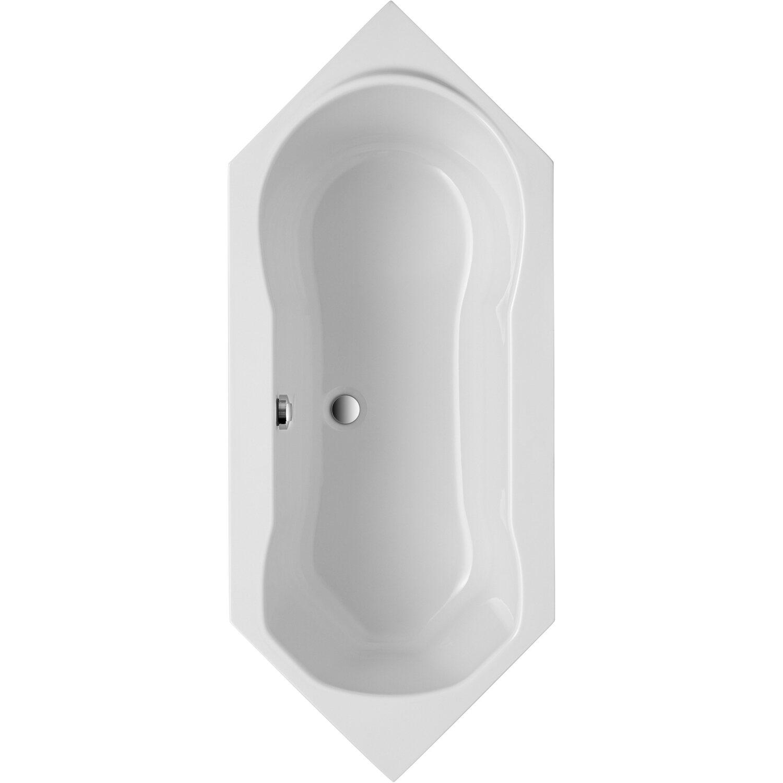 Sechseckwanne Ravenna 190 cm x 80 cm Weiß