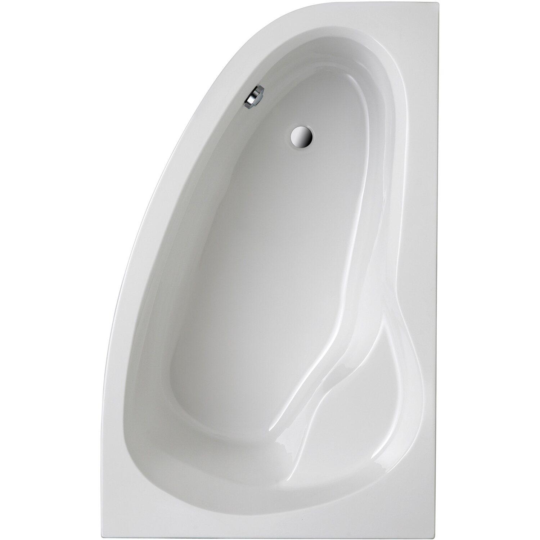 Badewanne loredana 175 cm x 111 cm wei typ a kaufen bei obi for Asymmetrische badewanne 170