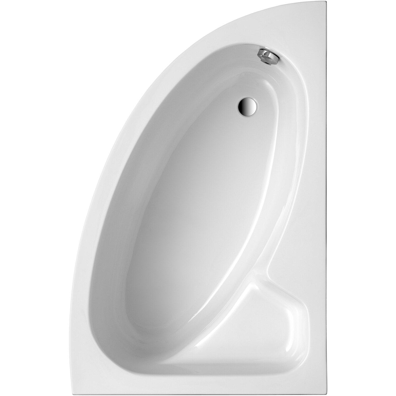 Ottofond Eck-Badewanne Salinas A 150 cm Weiß
