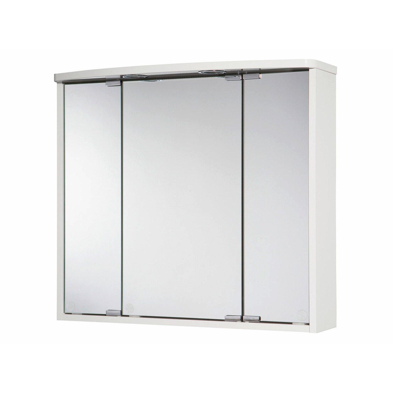 Jokey spiegelschrank lumo 67 5 cm wei eek c kaufen bei obi for Spiegelschrank obi