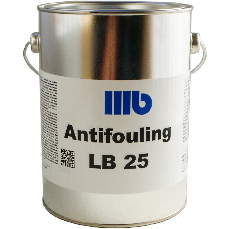 Wohlert  LB25 Antifouling Tiefblau 2,5 l