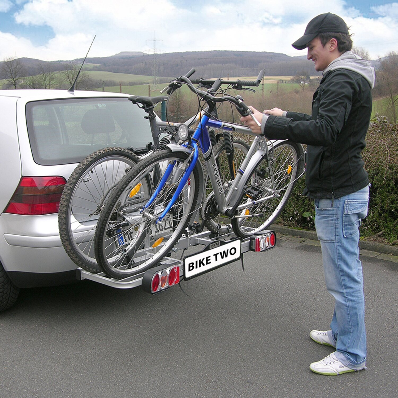 eufab fahrrad kupplungstr ger bike two kaufen bei obi. Black Bedroom Furniture Sets. Home Design Ideas