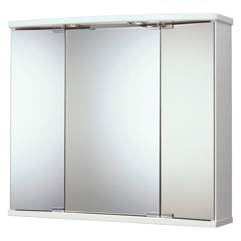 Jokey spiegelschrank funa 68 cm wei eek c kaufen bei obi for Spiegelschrank obi