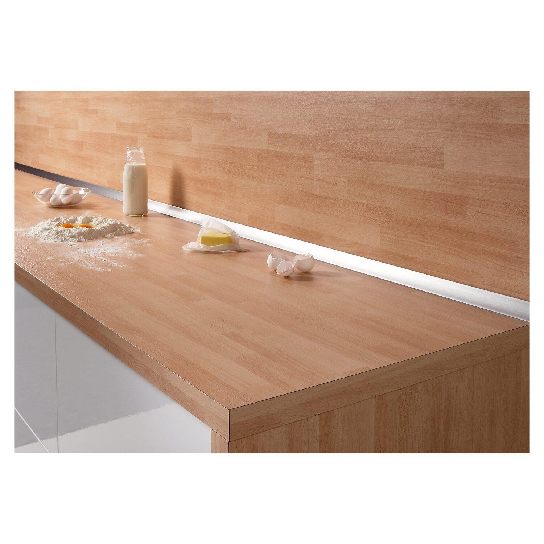 wandanschlussleiste plus 300 x 3 cm metallic kaufen bei obi. Black Bedroom Furniture Sets. Home Design Ideas