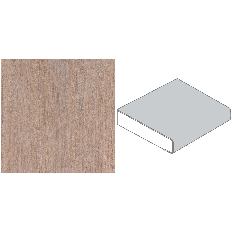 arbeitsplatte 60 cm x 3 9 cm teak holz t432 pof max l nge 4 1 m kaufen bei obi. Black Bedroom Furniture Sets. Home Design Ideas