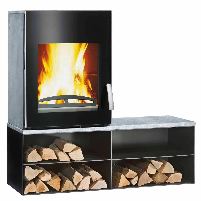 wamsler kaminofen plasma speckstein mit bank kaufen bei obi. Black Bedroom Furniture Sets. Home Design Ideas
