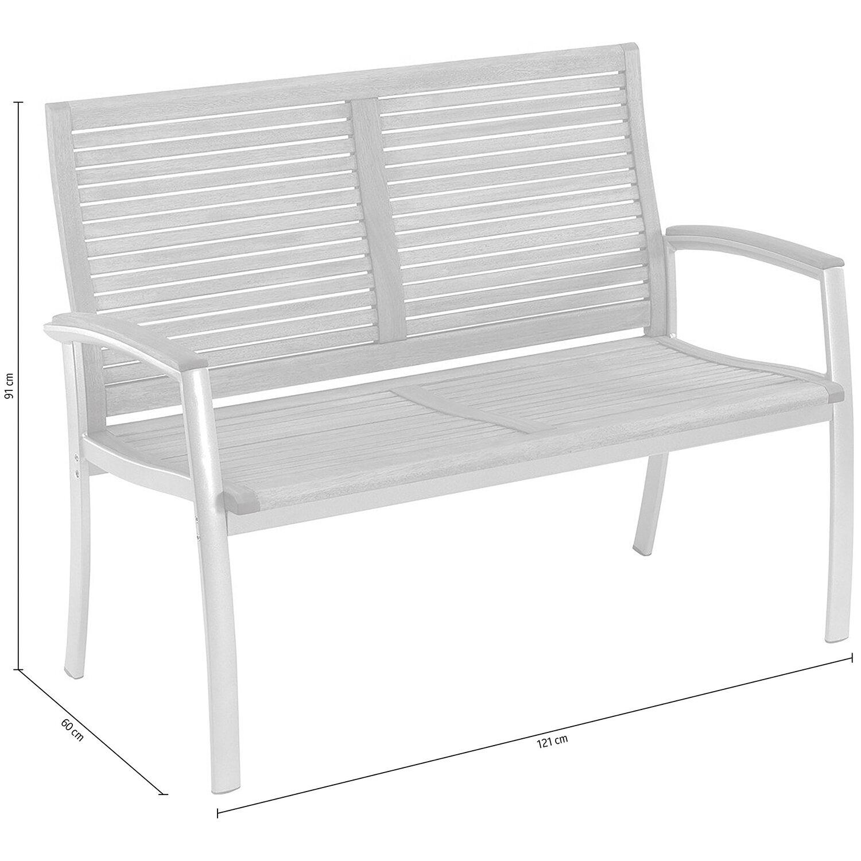 OBI Gartenbank Barrie 2-Sitzer kaufen bei OBI