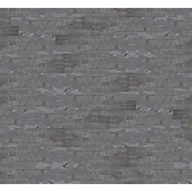Natursteinverblender Grau 10 cm x 40 cm kaufen bei OBI