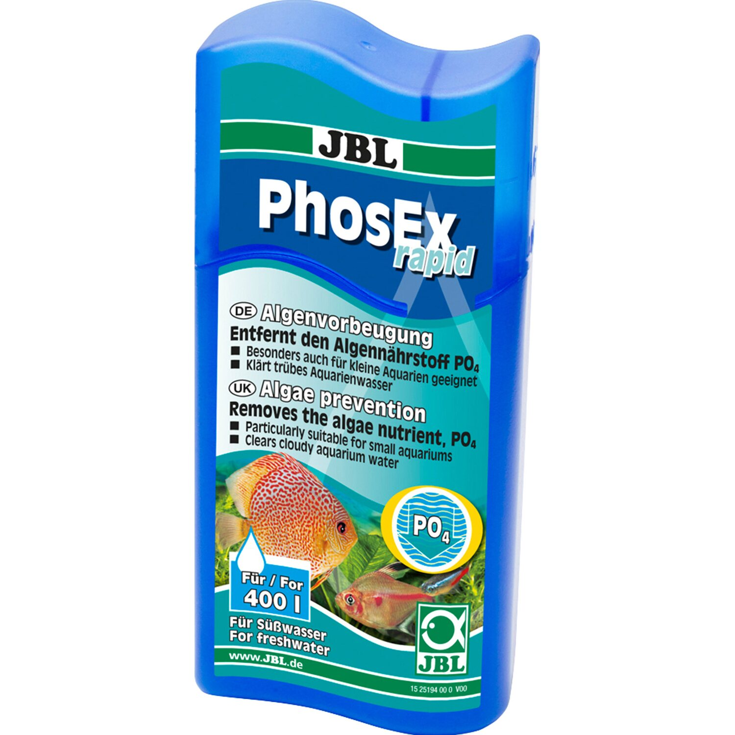 JBL Aquarium Wasserkorrektur PhosEx rapid 100 ml
