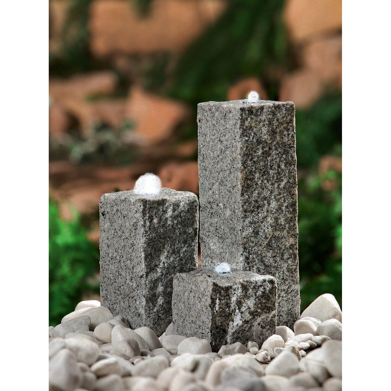 heissner steinbrunnen set grau kaufen bei obi. Black Bedroom Furniture Sets. Home Design Ideas