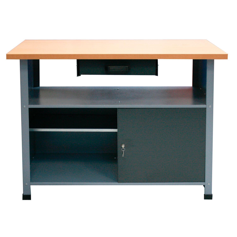 werkbank 1 t r 1 schublade 1200 mm breit kaufen bei obi. Black Bedroom Furniture Sets. Home Design Ideas