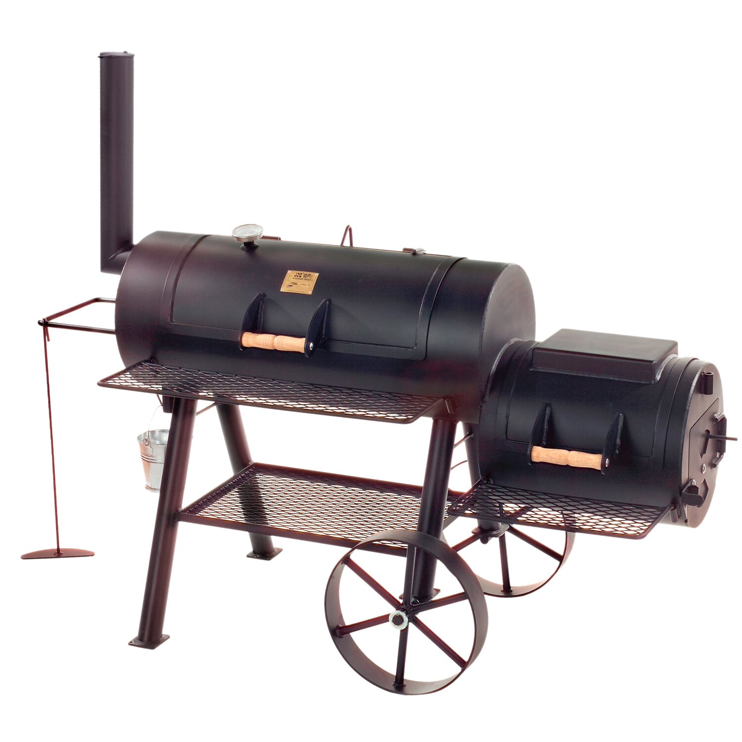 Joe s barbeque smoker texas classic kaufen bei obi for Obi barbecue