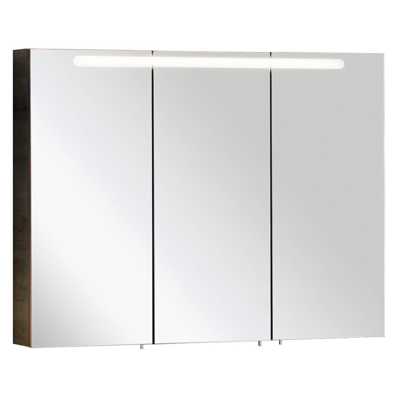 Fackelmann spiegelschrank a vero in eiche ausstattung 2 - Spiegelschrank 40 cm ...