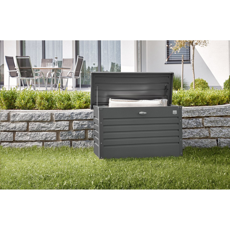 biohort freizeitbox 100 dunkelgrau metallic kaufen bei obi. Black Bedroom Furniture Sets. Home Design Ideas