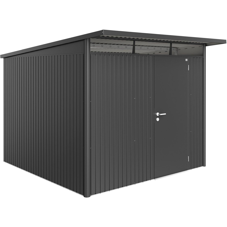 biohort ger tehaus avantgarde gr e xl dunkelgrau metallic mit einzelt r kaufen bei obi. Black Bedroom Furniture Sets. Home Design Ideas