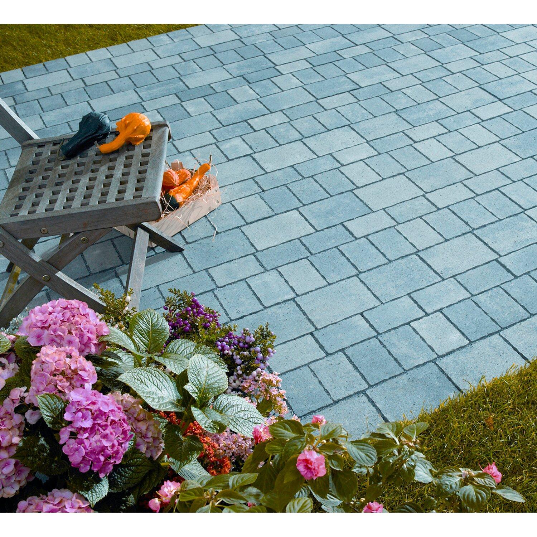 Kann Terrassen-Komplett-Paket Encanto antik Mehrformat Grau-Nuanciert ab 20 m²