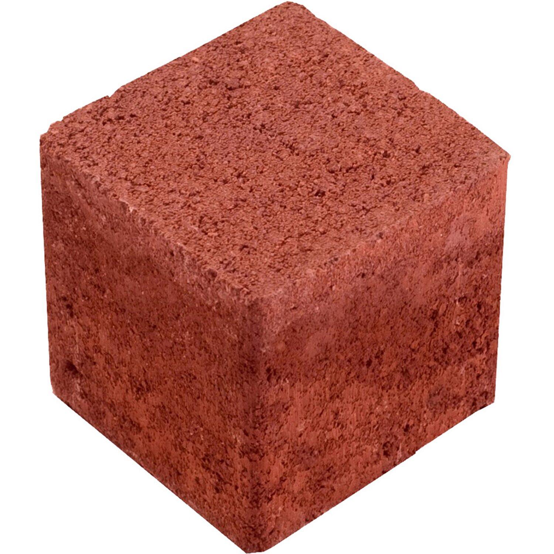 Rasengitter-Füllstein Beton Rot
