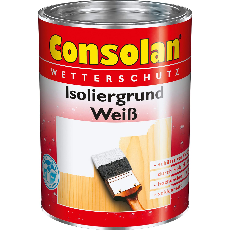 Consolan  Isoliergrund Weiß seidenmatt 750 ml