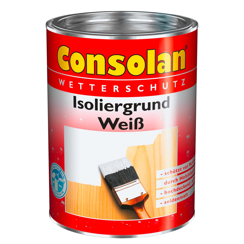Consolan  Isoliergrund Weiß seidenmatt 2,5 l