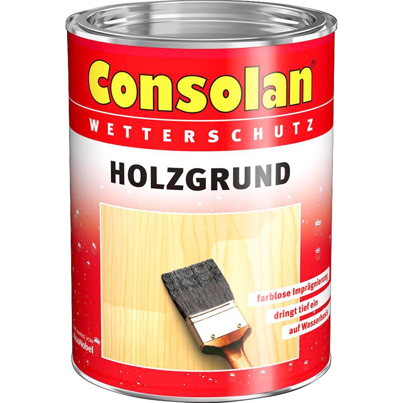 Consolan  Holzgrund Transparent seidenmatt 750 ml