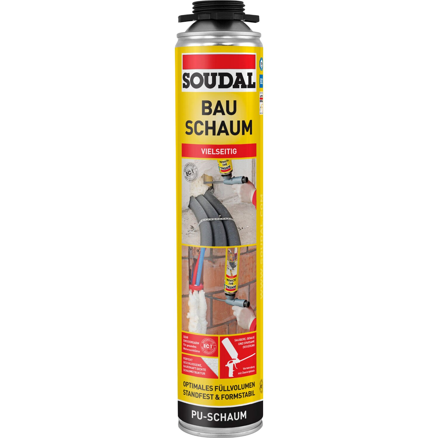 Soudal  Bauschaum B2 750 ml