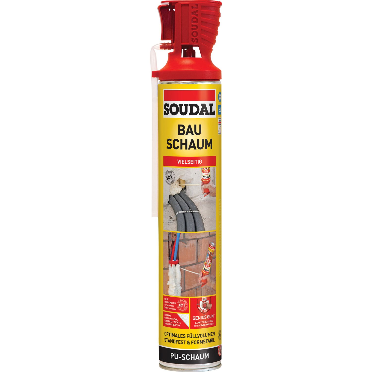 Soudal  Bauschaum B2 Genius Gun 750 ml