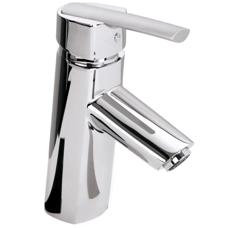 Sanitop-Wingenroth Einhebelmischer-Waschbeckenarmatur Fonte Chrom | Bad > Armaturen > Waschtischarmaturen | Silberfarben | Sanitop-Wingenroth