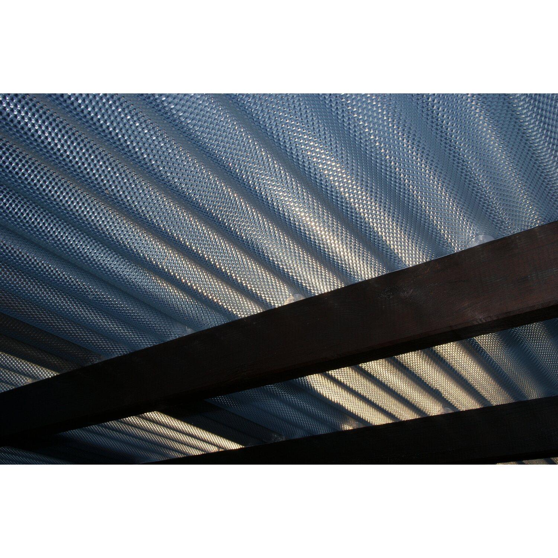 PVC Wellplatte Sinus 76 18 Klar Prisma 90 Cm X 120 Starke 25 Mm