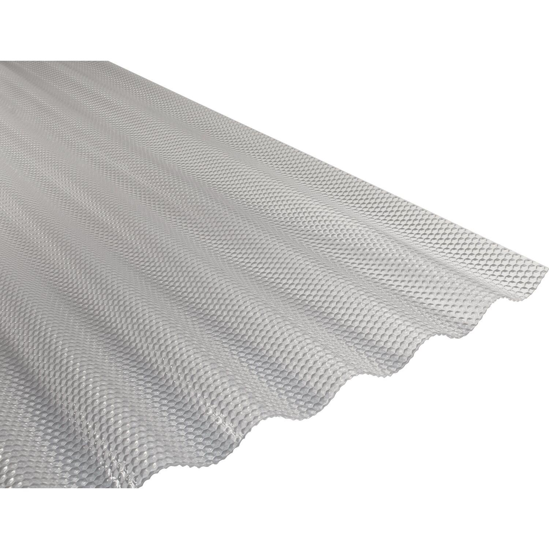 PVC Wellplatte Sinus 76 18 Klar Prisma 90 Cm X 120 Starke