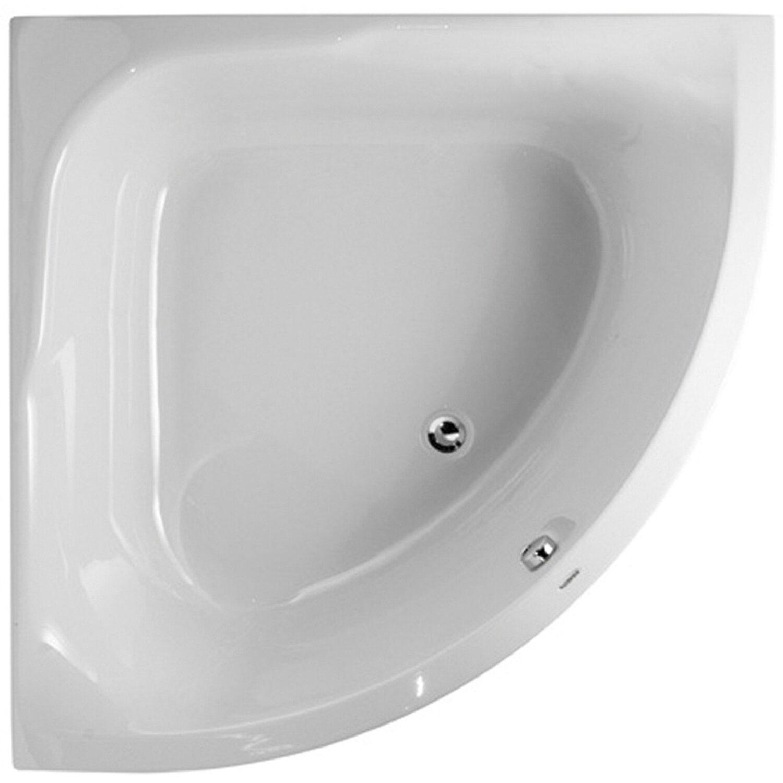 Sanitop-Wingenroth Acryl-Eckwanne Cora 120 cm x 120 cm Weiß | Bad > Badewannen & Whirlpools > Eckbadewannen | Weiß | Sanitäracryl | Sanitop-Wingenroth