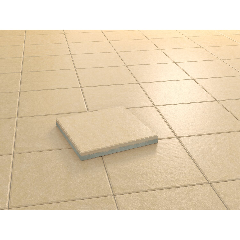 Kann Terrassenplatte Beton Aveiro Apricot strukturiert 40 cm x 40 cm x 4,2 cm