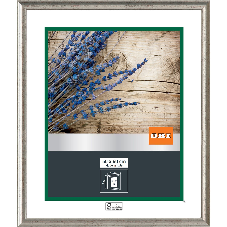 obi holz wechselrahmen silber 50 cm x 60 cm kaufen bei obi. Black Bedroom Furniture Sets. Home Design Ideas