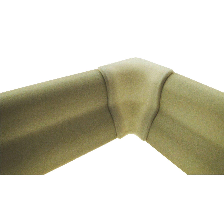 Innenecke für Sockelleiste Weiß 22 mm x 40 mm