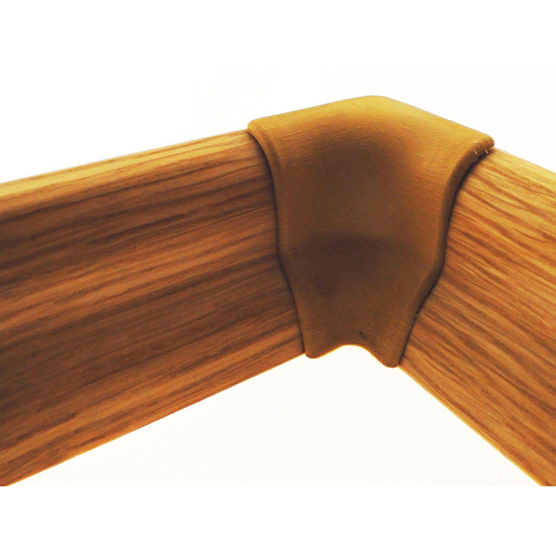 innenecken zu sockelleiste 22 mm x 40 mm farbe eiche kaufen bei obi. Black Bedroom Furniture Sets. Home Design Ideas