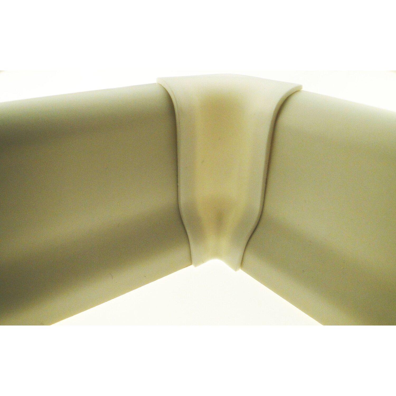 Innenecke für Sockelleiste Weiß 21 mm x 60 mm