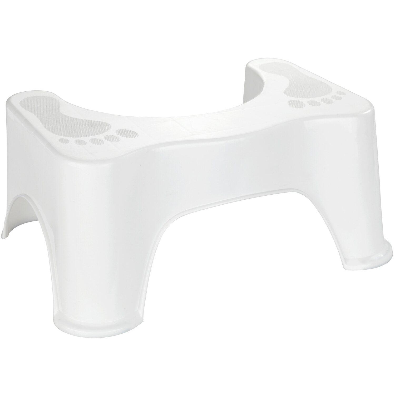 Wenko Toilettenhocker Secura Weiß