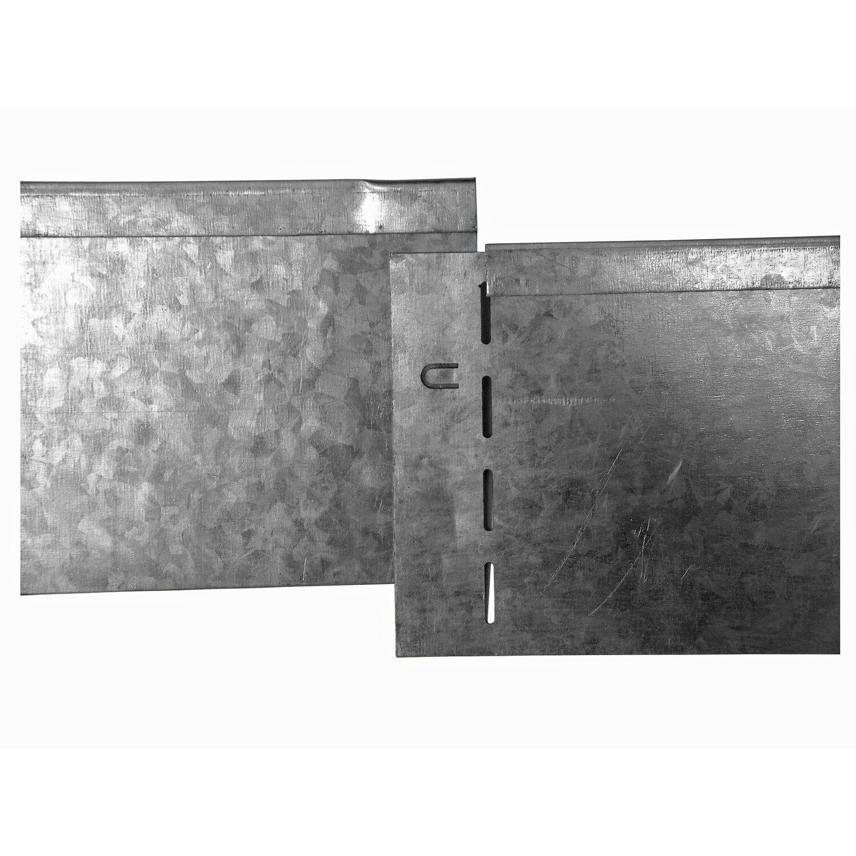 Berühmt Bellissa Rasenkante verzinkt 118 cm x ca. 12,5 cm kaufen bei OBI &QU_39