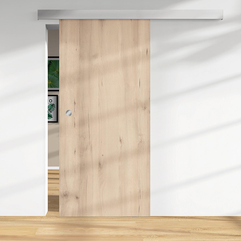 Holzschiebetür 28 mm Melamindekor Buche Naturewood 2060 x 940 mm