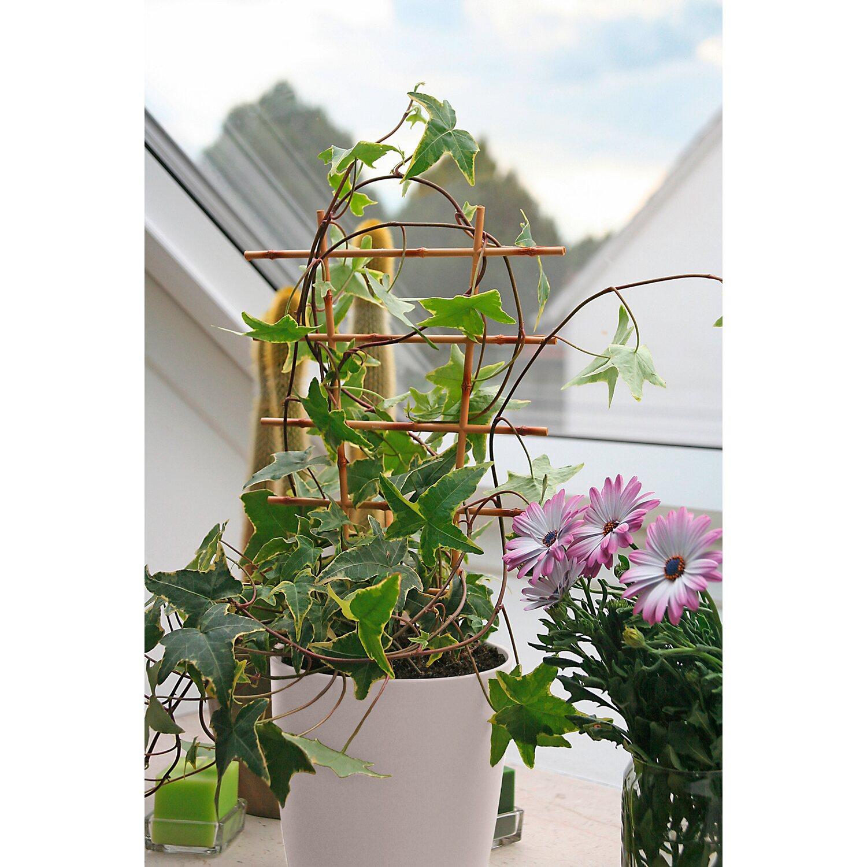 OBI Blumengitter 44 cm Beige 2 Stück
