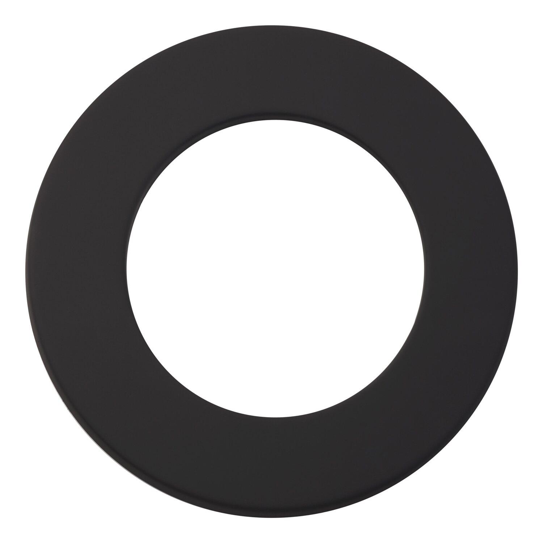 OBI Rosette Ø 150 mm Schwarz