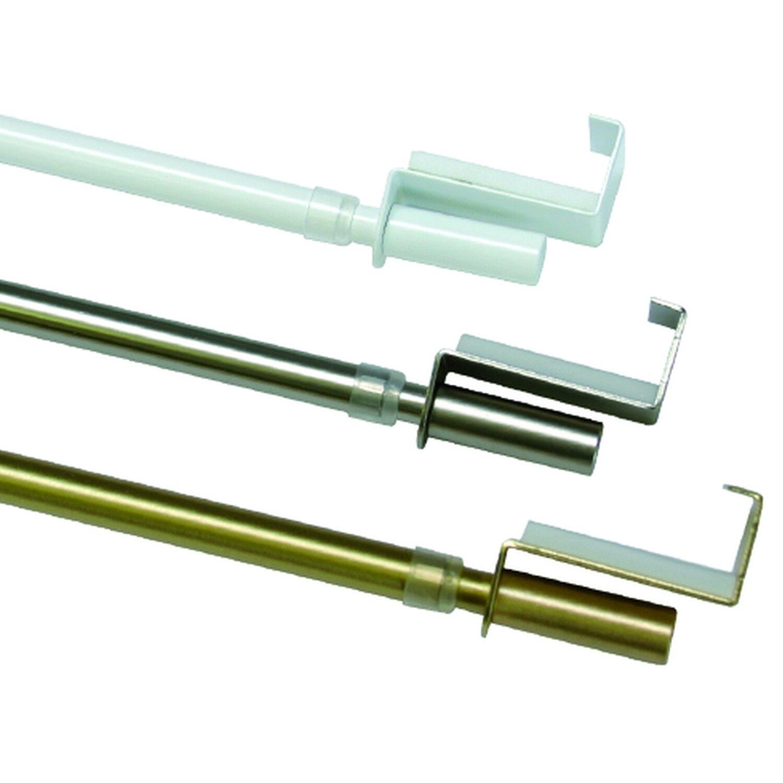 Gardinia  Adapter für Spannvitrage Weiß 2-er Pack