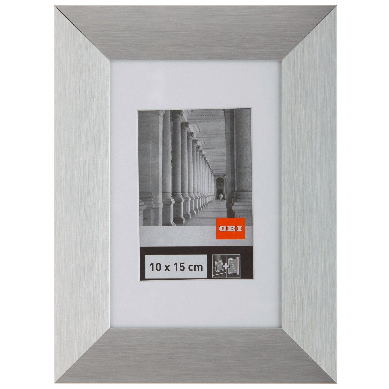OBI breiter Aluminiumrahmen 10 cm x 15 cm Silber kaufen bei OBI