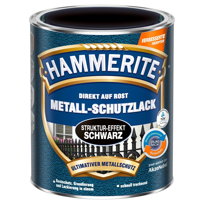 hammerite metall schutzlack schwarz struktur effekt 750 ml kaufen bei obi. Black Bedroom Furniture Sets. Home Design Ideas
