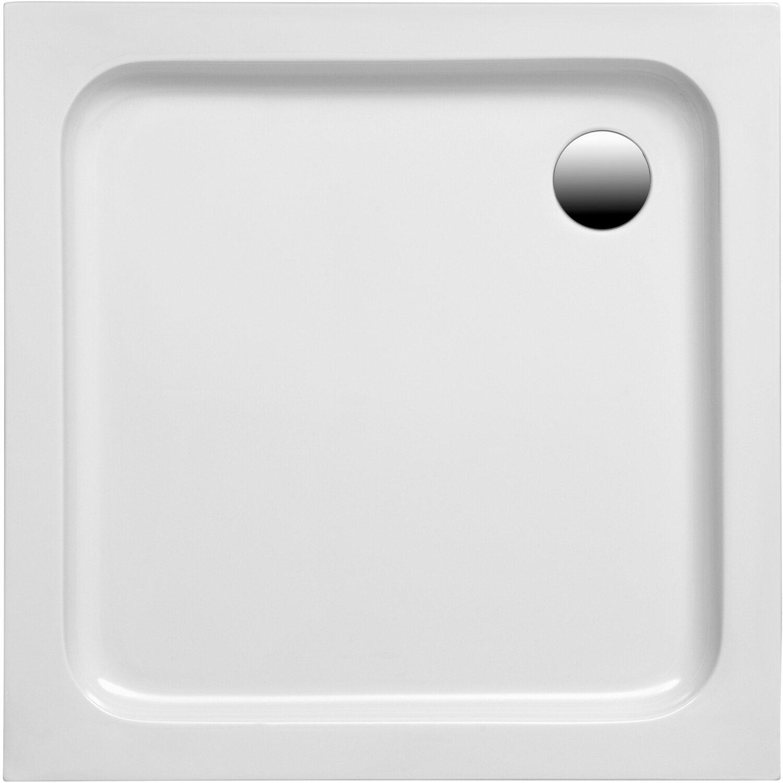 Duschwanne Samos Weiß 100 cm x 80 cm x 6 cm   Bad > Duschen > Duschwannen   Ottofond