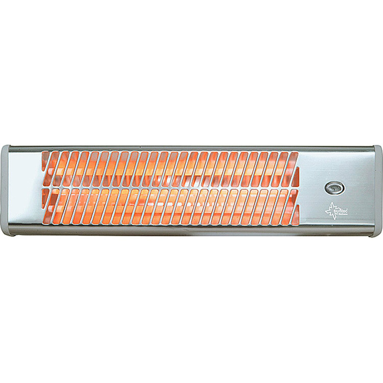 Suntec Quarzstrahler Heat Ray 1500 mit 500/1000/1500 W Heizleistung