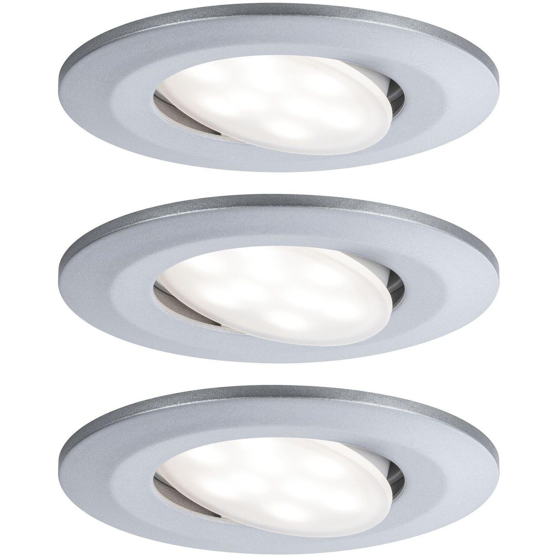 Paulmann UFO Ersatz LED Halogen Strahler Seil Spots Licht DEKOR Wand Decken Silb
