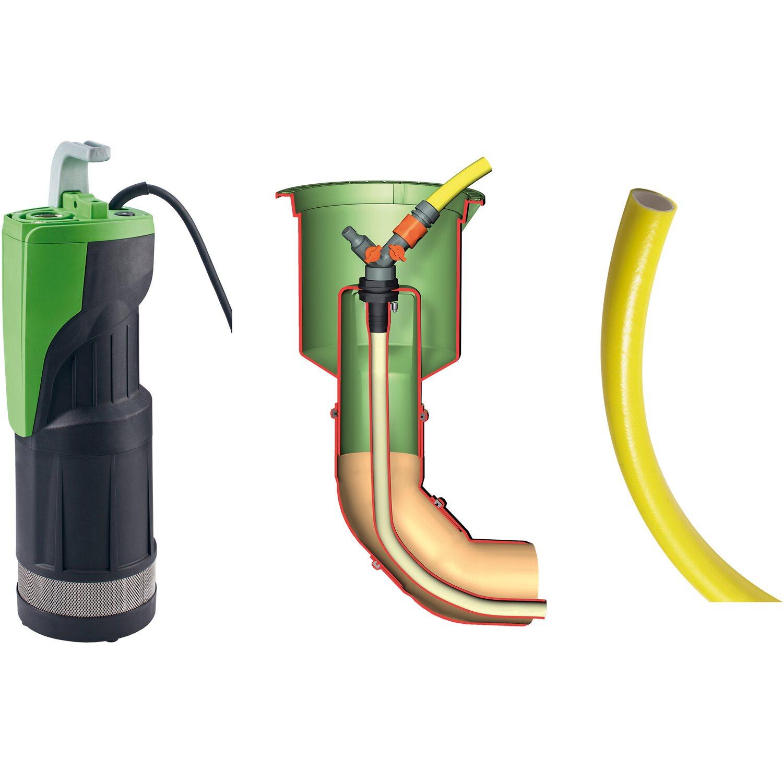 Garantia Regenwasser Komplett Paket Garten Comfort Cristall 1 600 L