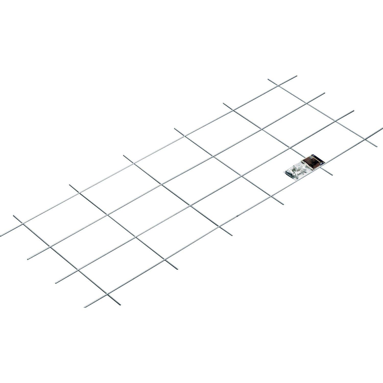 OBI Metallspalier 150 cm x 60 cm Weiß