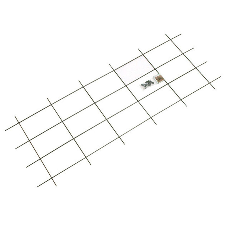 OBI Metallspalier 150 cm x 60 cm Grün