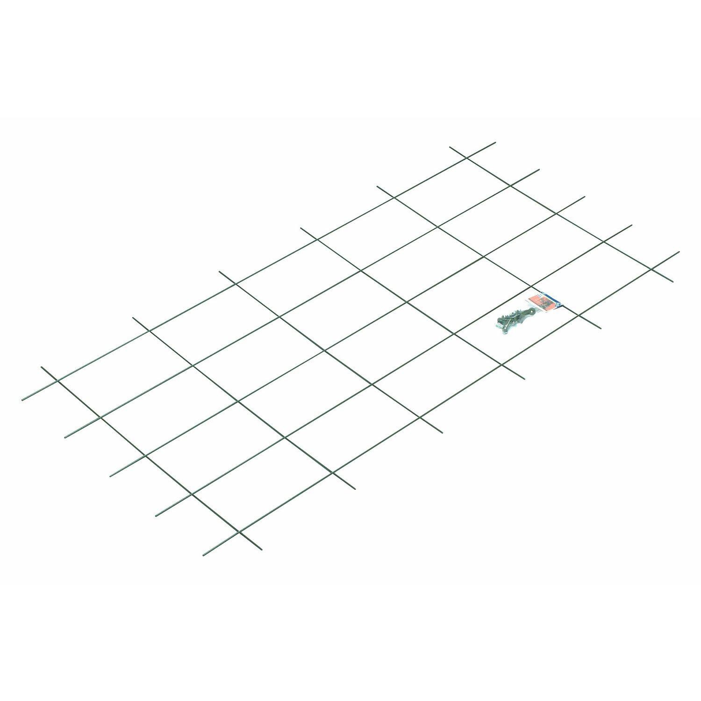 OBI Metallspalier 150 cm x 75 cm Grün